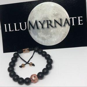 Natural Yinyang Onyx Bracelet